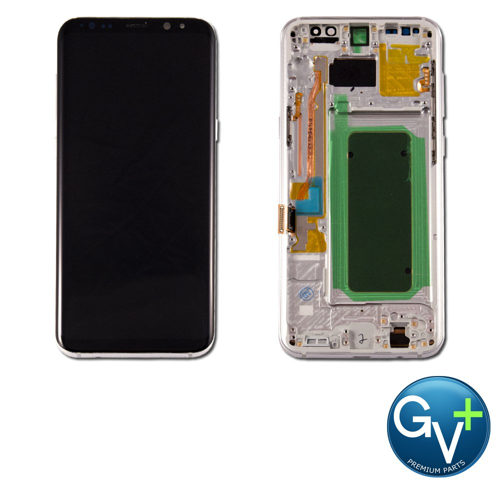 OEM-Grade Touch Screen Digitizer and LCD with Frame for Samsung Galaxy S8 Plus - Arctic Silver (SM-G955) hot sale