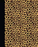 Journal: Animal Print (Leopard) 8x10 - LINED