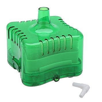 Gosear Filtro Interno de Agua / Filtración de Eficiencia de Esquina con Accesorios de Ventosas para Tanque de Peces de Acuario,Verde: Amazon.es: Hogar