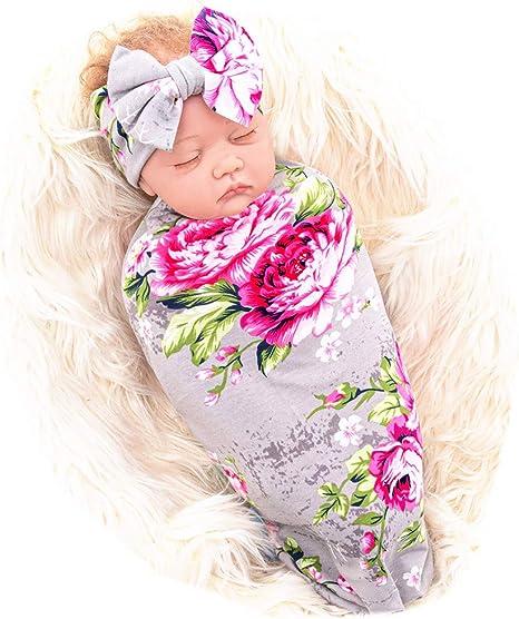 Newborn Headband Set Pink Flower Headband Set Newborn Photography Headband Set Premie Headband Set Newborn Bow Flower Gift Set