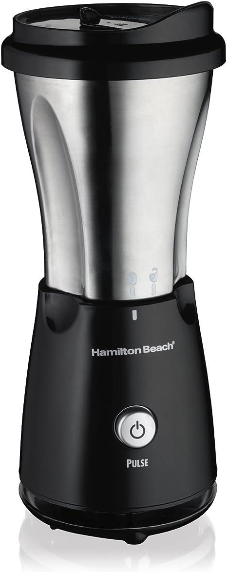 Hamilton Beach 51108 Batidora de vaso 0.4L Negro, Acero inoxidable ...