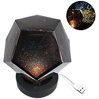 Pawaca Lámpara de proyección de Cielo Estrellado Recargable