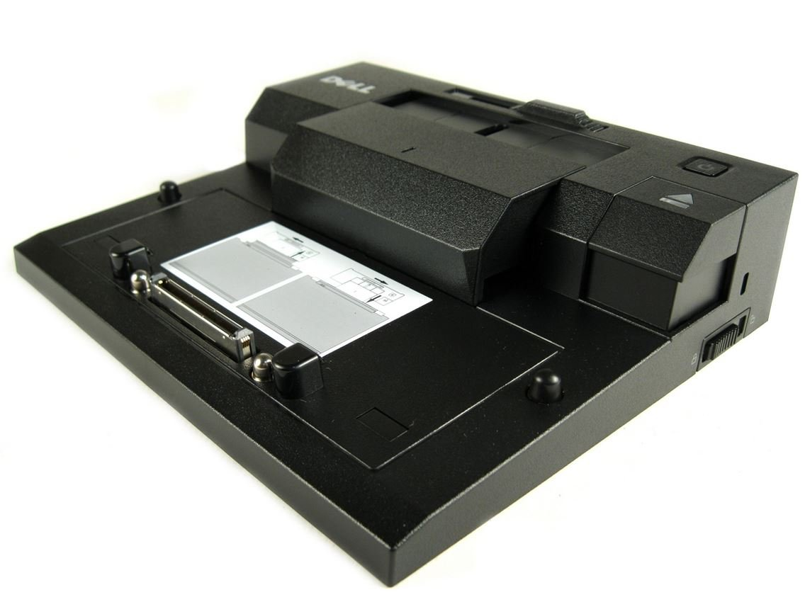 Dell PR03X E-Port Port Replicator with 130 Watt PA-4E AC Adapter