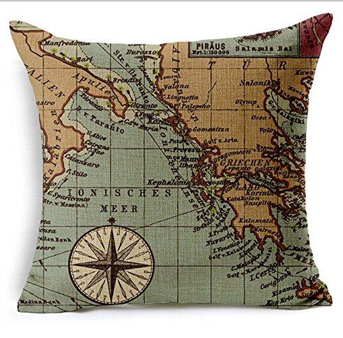 Colorful Cotton Pillow Cushion Decorative