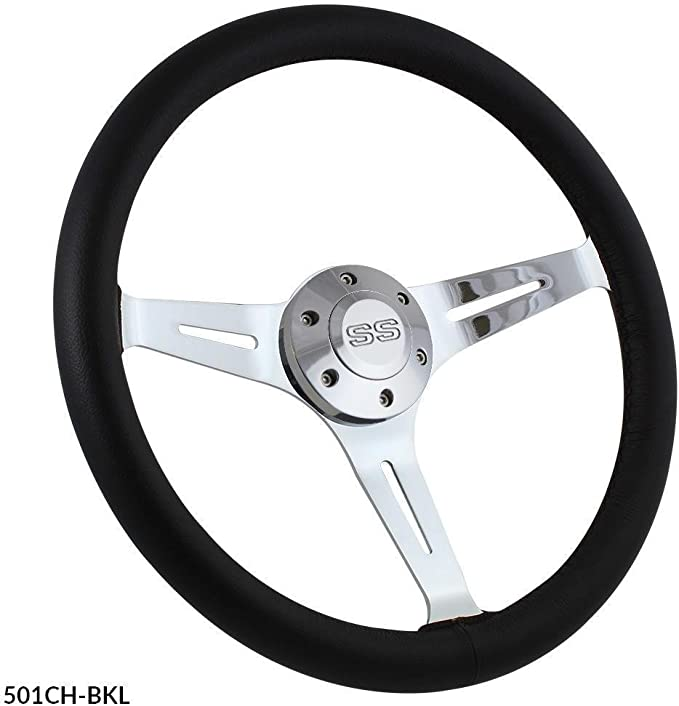 "1969-1994 Camaro steering wheel 14/"" POLISHED BILLET"