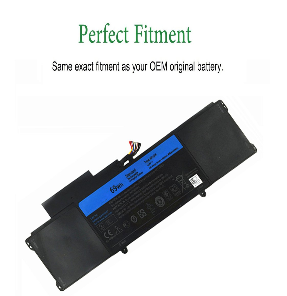 Amazon.com: 69wh 4rxfk C1jkh Battery for Dell Xps 14-l421x Ultrabook 14 L421x Series: Computers & Accessories