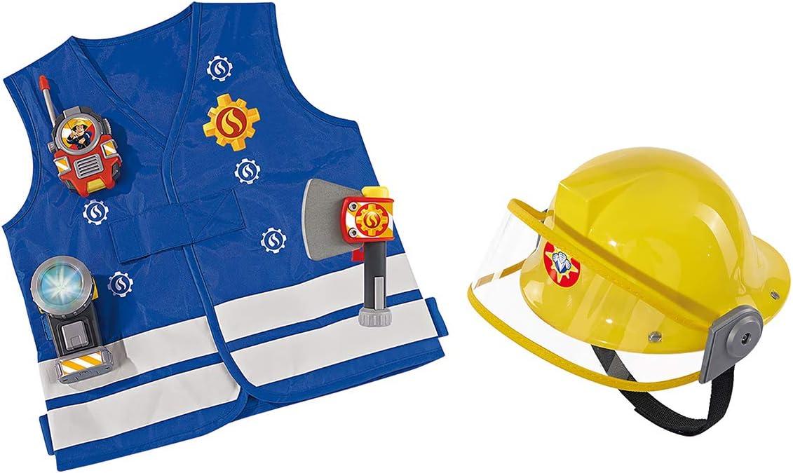 Smoby 109250745SMO Fireman Sam Kit with Helmet Blue