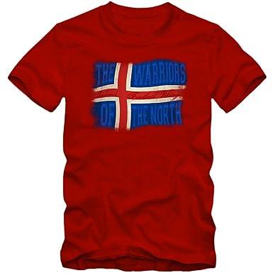 Islandia Campeonato de Europa 2016#13 Camiseta | Hombre | Fútbol | Island | Jersey | Knattspyrna | Vikingo | Equipo Nacional: Amazon.es: Ropa y accesorios