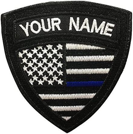Custom military name patch embroidered product image