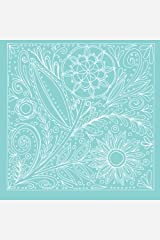 Floral Notebook No.2: A notebook with coloring elements