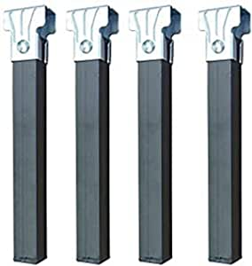 Imex El Zorro 81404 - Juego 4 patas somier sin ruedas, 250 x 35 x 35 mm