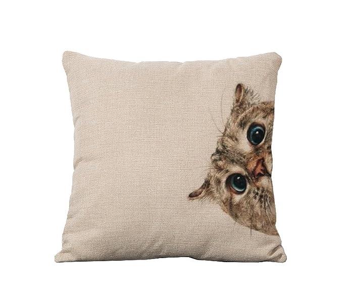 Amazon.com: Crazy Cart Owl Series Funda cuadrada de ...