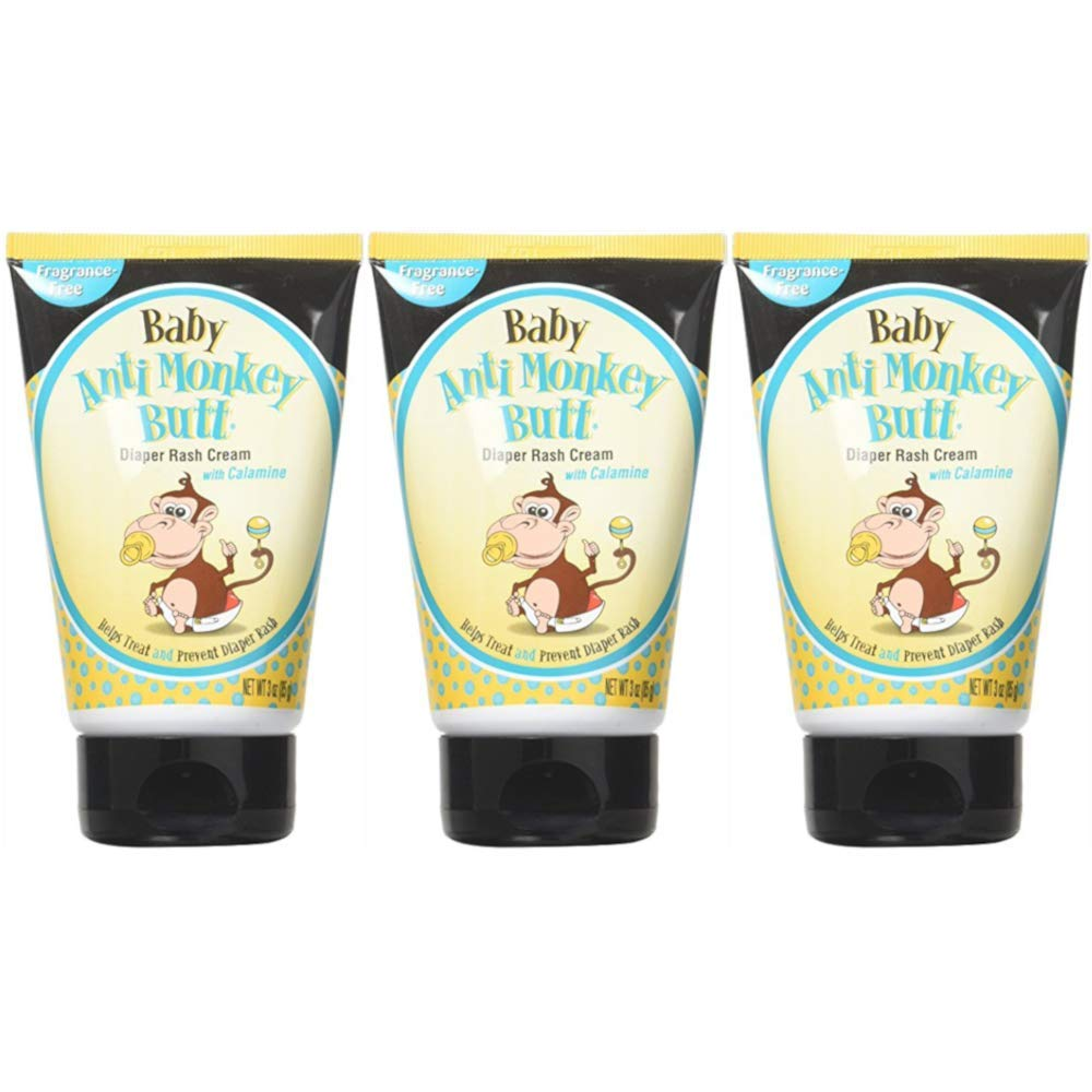 DSE Baby Anti-Monkey Butt Cream, 3 Ounce, 3 Count by DSE