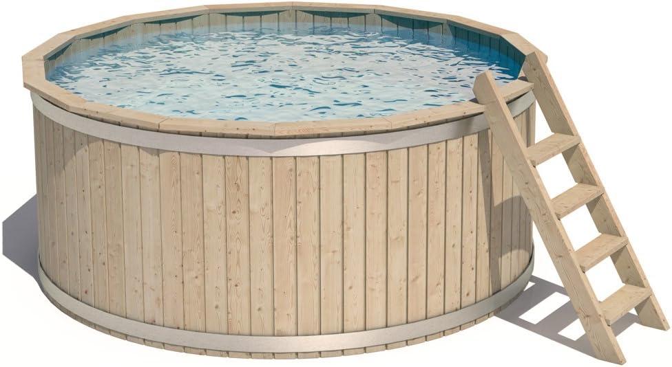 Isidor Casper Madera piscinas Piscina Piscina (240 x 107 cm ...