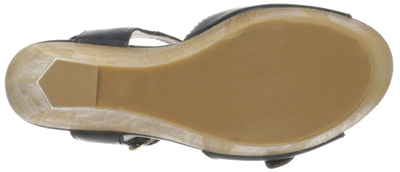 Steve Steve Steve Madden Breeann Damen US 10 Schwarz Keilabsätze Sandale 4b86f5