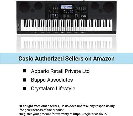 Casio Tastiera 76T 48P200R.Sd/USB Ahl - Teclado Casio, gris ...