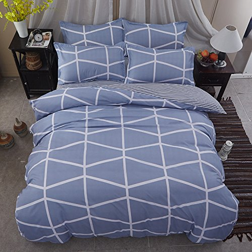 Bedding Duvet Cover Sets 3-pieces Full/Queen Size(90