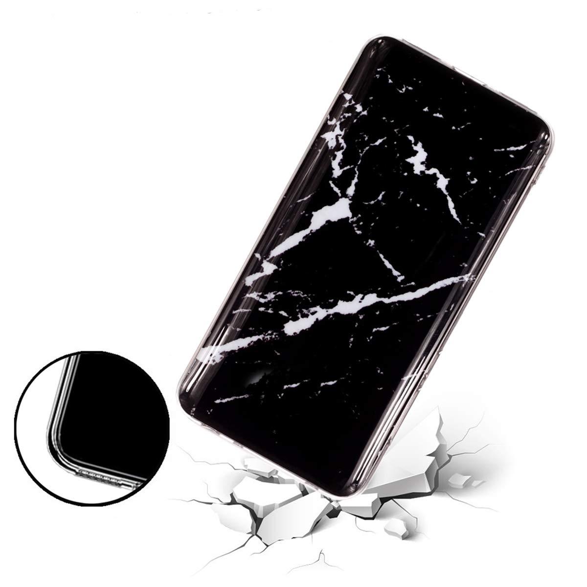 Misstars Coque en Silicone pour Xiaomi Redmi Note 5 Pro//Note 5 Marbre G/éom/étrique Ultra Mince TPU Souple Flexible Housse Etui de Protection Anti-Choc Anti-Rayures Bumper