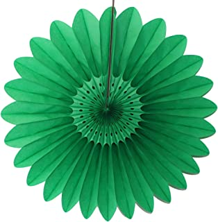 product image for 3-Pack 18 Inch Tissue Paper Fanburst Decoration (Light Green)