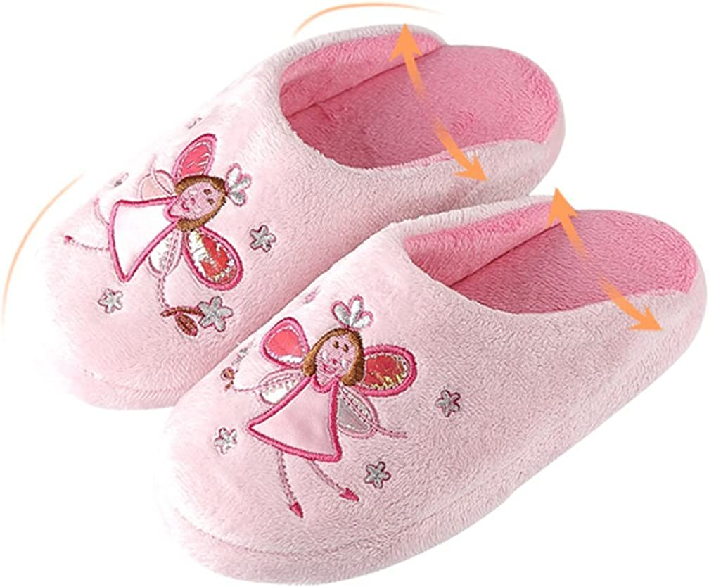 Cattior Toddler Little Kid Cute Coral Girls Slippers Pink Slippers