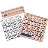 MagiDeal Jeux de Construction Jeu éducatif Enfant équipement De Montessori Exercice Numéros