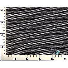 Black Power Mesh Net Fabric 4 Way Stretch Nylon Spandex Lycra 58-60 by Sewing Fabric
