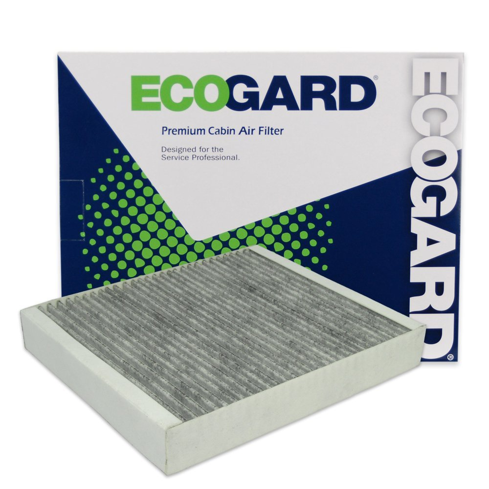 Premium Replacement Fits Chevrolet Cruze Sonic // Cadillac SRX // Buick LaCrosse Encore Verano // Chevrolet Trax Malibu ECOGARD XC36154C Cabin Air Filter with Activated Carbon Odor Eliminator
