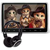 10.1 Inch HD Digital Multimedia Monitor Super-thin Car Headrest Dvd Player With Ir headphone and HDMI Port and Remote…