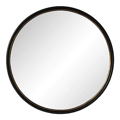 Amazon Com Moe S Sax 38 Round Decorative Mirror In Black