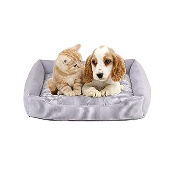 Huijunwenti Cama para perros, Perro pequeño y mediano, Cama ...