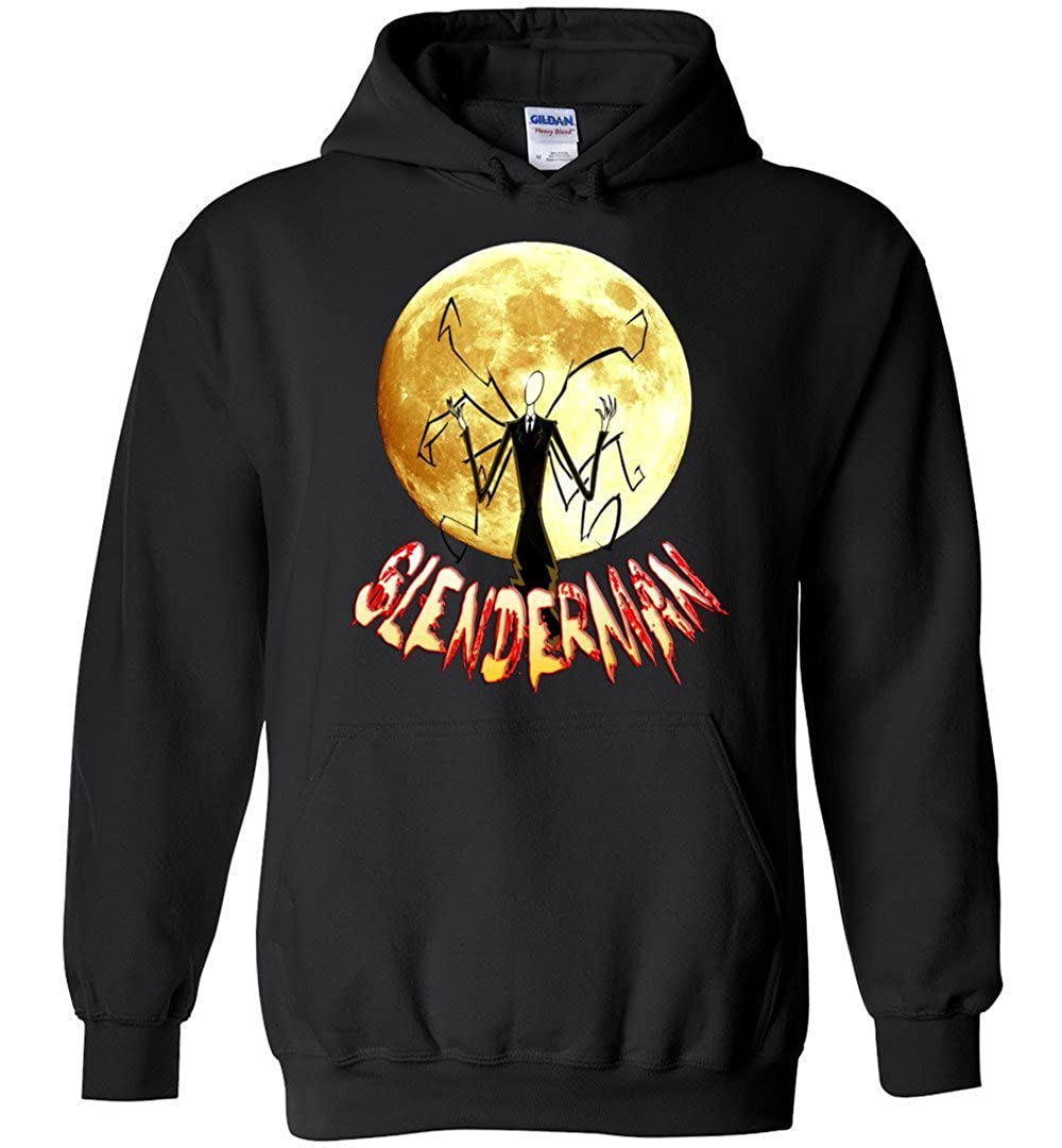 TSHIRTAMAZING Slenderman and The Moon Hoodies Adult and Youth Size