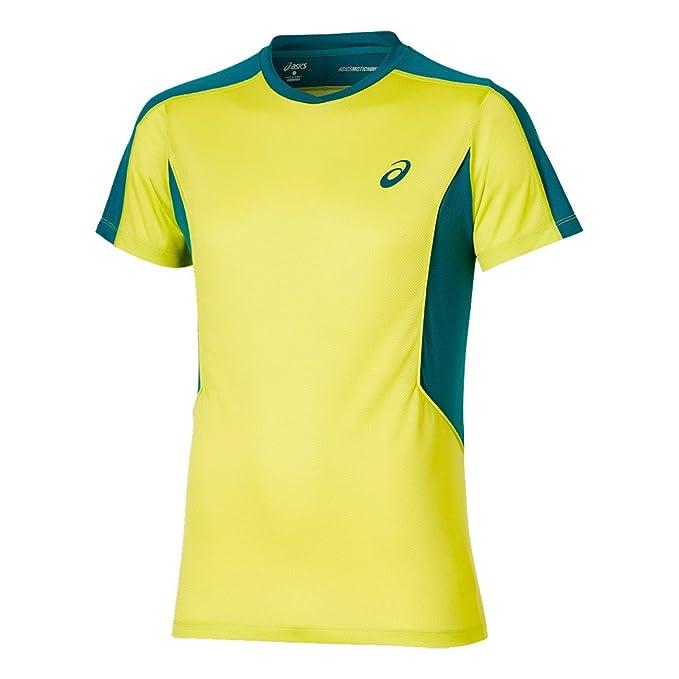 ASICS Camiseta Padel SS Top Lima: Amazon.es: Deportes y aire ...