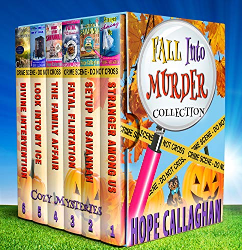 Fall into Murder Cozy Mysteries Box Set Collection by [Callaghan, Hope]