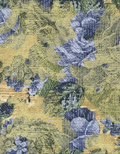 Hydrangea Blue Needlepoint - Needlepoint Floral Bouquet Series 6121 Blue Hydrangea Vinyl Tablecloth 54