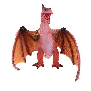 Fenteer Jurassic Dinosauro Kit Tyrannosaurus / Pterosaur Action Figure Figurine Model Toy For Kids 1x - tirannosauro