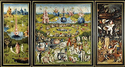 Oil Painting 'Bosch Hieronymus The Garden Of Earthly Delights 1500 05' 30 x 56 inch / 76 x 142 cm , on High Definition HD canvas prints is for Gifts - Costa Made Where Are Sunglasses