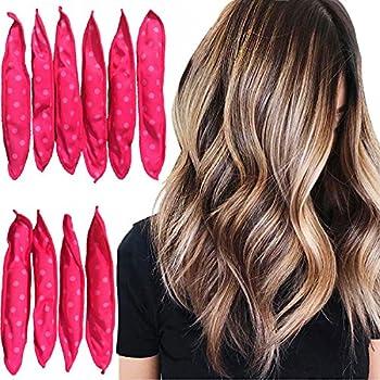 Hair Rollers Night Sleep Foam Hair Curler Rollers Flexible Soft Pillow Hair Rollers Diy Sponge Hair Styling Rollers Tools 1