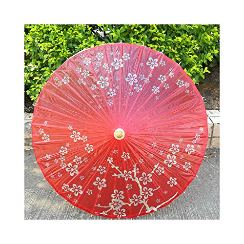 WAWE Chinese traditional folk crafts process of classical oil paper umbrella umbrella rain dance decoration photography umbrella-04