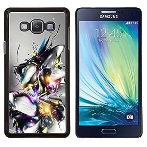 LECELL--Funda protectora / Cubierta / Piel For Samsung Galaxy A7 A7000 -- Diseño abstracto --
