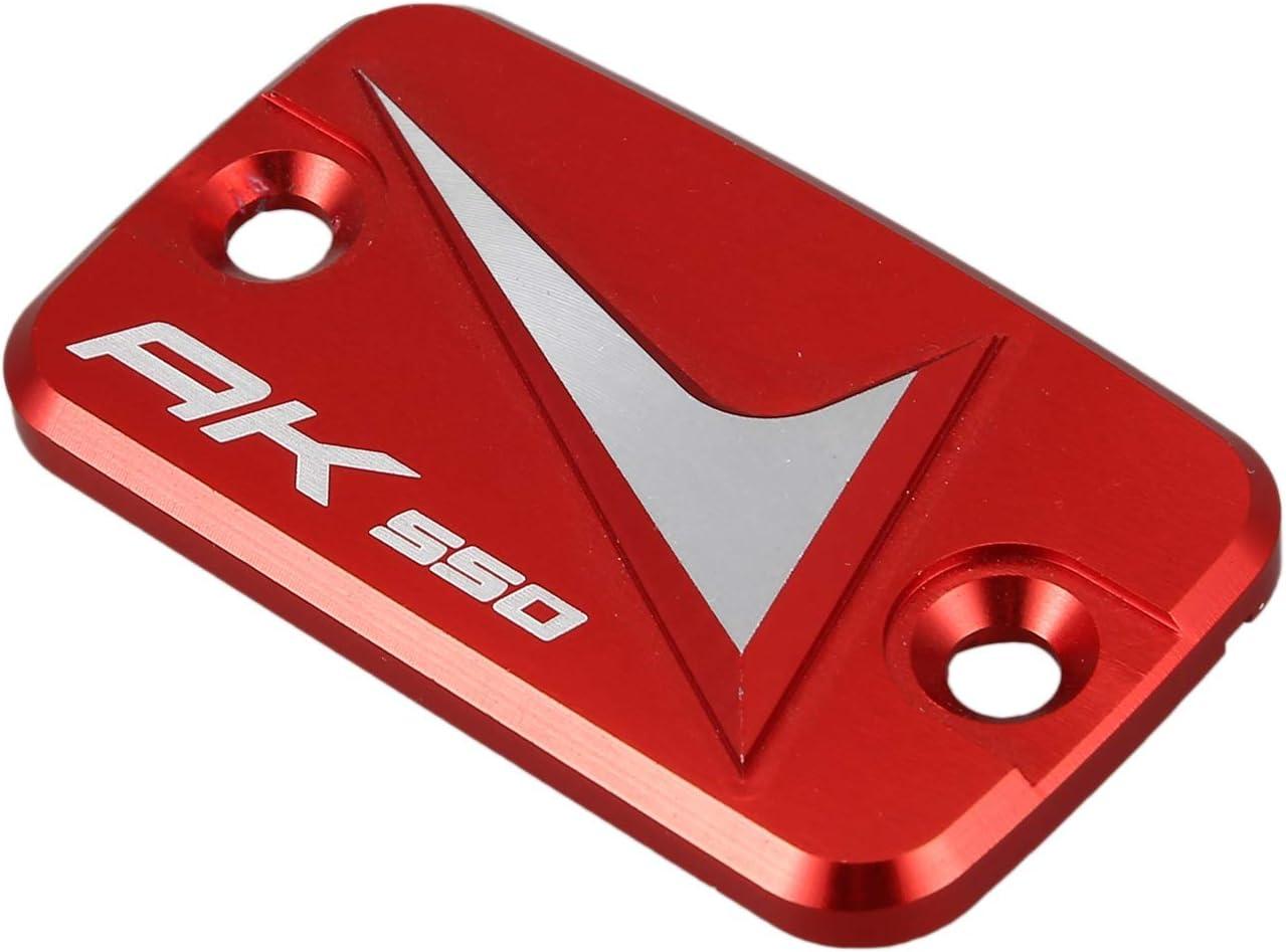 Fauge L/íQuido de Frenos Cubierta de Tapa del Dep/óSito Accesorios de la Motocicleta Adapta una KYMCO AK550 AK 550 2017-2020 Aleaci/óN de Aluminio