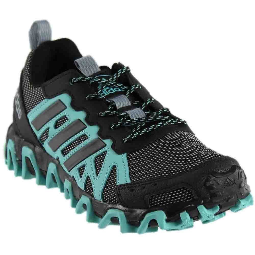 adidas Women's Incision W Trail Runner, Easy Mint/Black/White, 6 M US