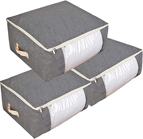 Blankets Clothes Quilts and Towels Large Storage Bags for Comforters