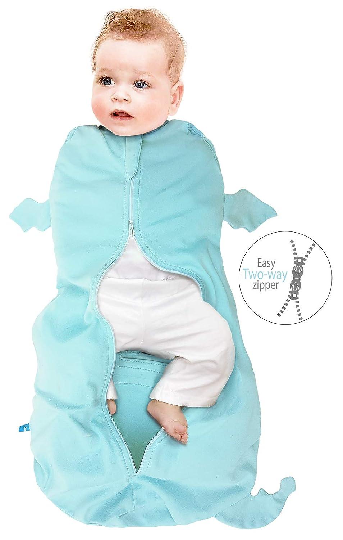 100/% algod/ón natural Funda para beb/é swaddle Wallaboo Saco de dormir