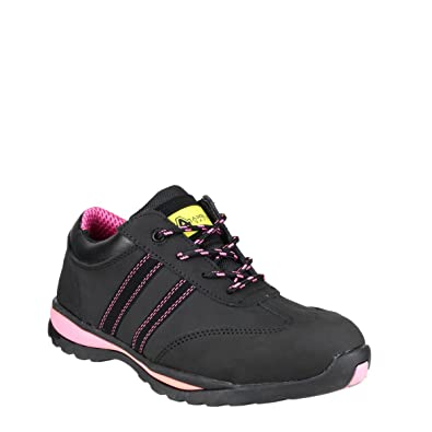 75fdda234 Amblers Safety FS47 Ladies S1 P HRO SRC Safety Trainers Black:  Amazon.co.uk: Shoes & Bags