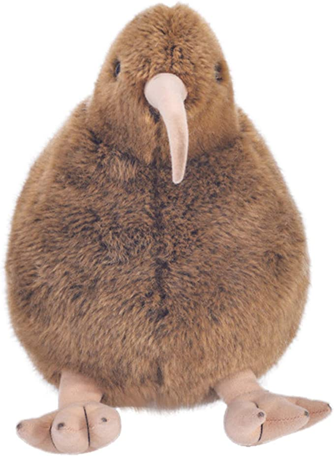 Amazon.com: Lifelike Vivid Kiwi Birds Plush Toys - Lovely Bird Stuffed Animals Toy Simulation Kiwi Bird Plush Stuffed Doll Home Decor - Soft Furry Stuffed Animal Plush Toy Hugging Pillow Birthday Gifts for Kids: Toys & Games