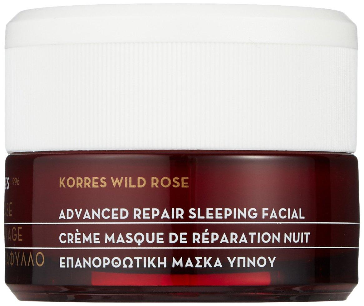Korres Wild Rose Advanced Repair Sleeping Facial - All Skin Types - 40ml/1.35oz ambi facial care kit bundle - 3 products