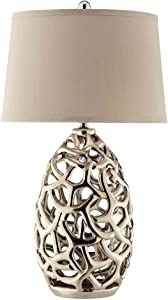 Stein World Furniture Cream Ripley Table Lamp