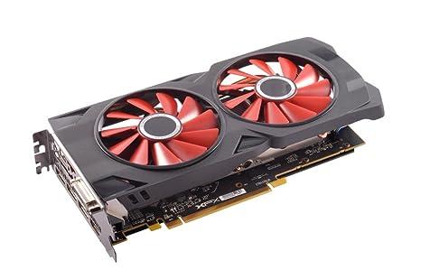 XFX RX-570P8DFD6, Tarjeta Gráfica 8GB GDDR5, AMD Radeon RX 570, Negro/Rojo