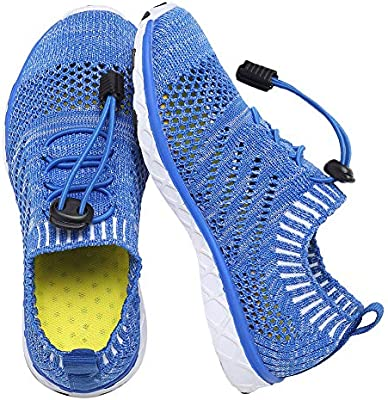 Kids Water Shoes Boys Girls Aqua Shoes Swim Shoes Athletic Sneakers Lightweight