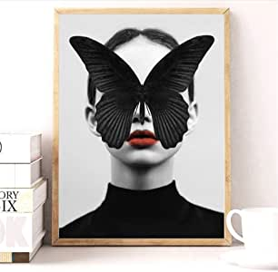 Tela de lienzo 40x60cm sin marco Cita nórdica Cartel